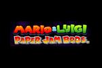 Mario & Luigi Paper Jam Bros Logo black