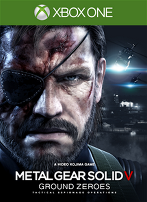 Metal Gear Solid V Ground Zeroes cover XBL