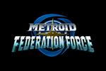 Metroid Prime Federation Force Logo black