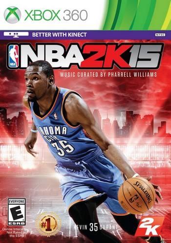 NBA 2K15 cover 360 USA