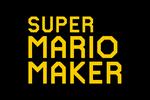 Super Mario Maker Logo black