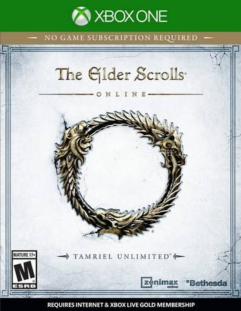 The ELder Scrolls Tamriel Unlimited cover XBO USA