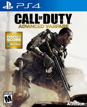 Call of Duty Advanced Warfare cover PS4 USA