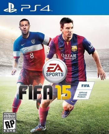 FIFA 15 cover PS4 USA