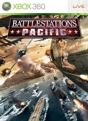 Battlestations Pacific cover Xbox 360