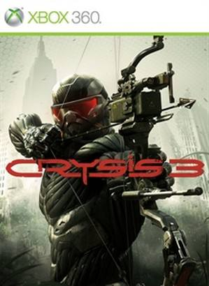 Crysis 3 cover Xbox 360