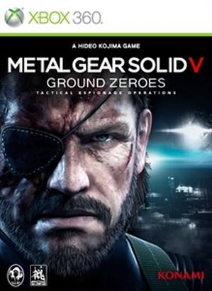 Metal Gear Solid V Ground Zeroes cover 360