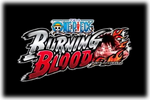 One Piece Burning Blood Logo black