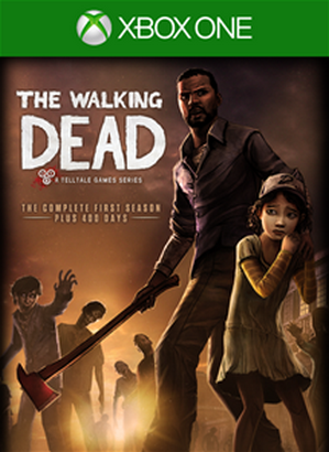 The Walking Dead The Complete First Season cover XBO