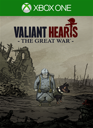 Valiant Hearts The Great War cover XBO