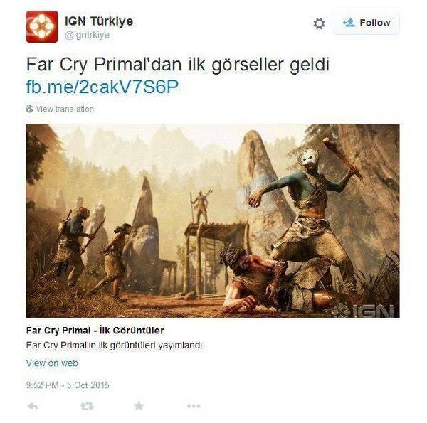 IGN Turquia - Far Cry Primal