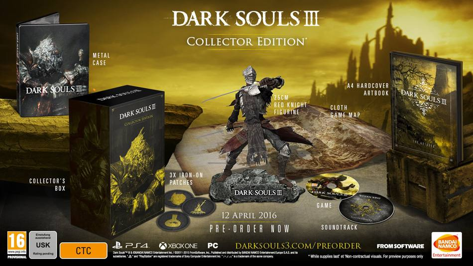 DarkSouls III Collector's Edtion EURO