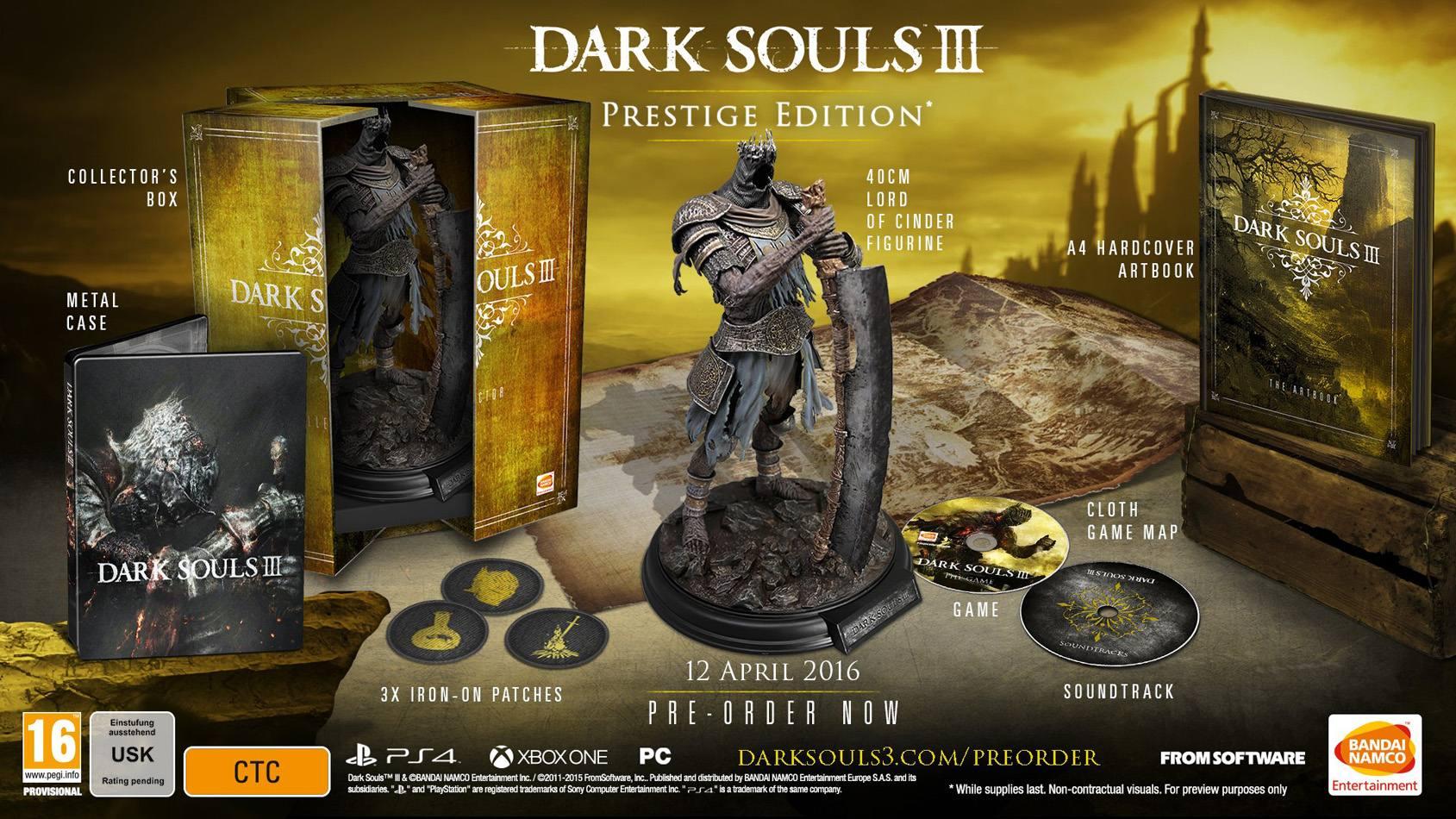 DarkSouls III Prestige Edtion EURO