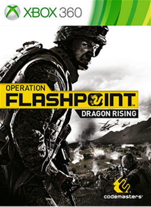 Operation Flashpoint Dragon Rising cover 360