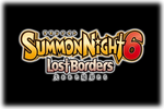Summon Night 6 Lost Borders Logo black