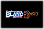 MegaTagmension Blanc Plus Neptune VS Zombies Logo black