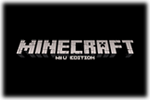 Minecraft Wii U Edition Logo black