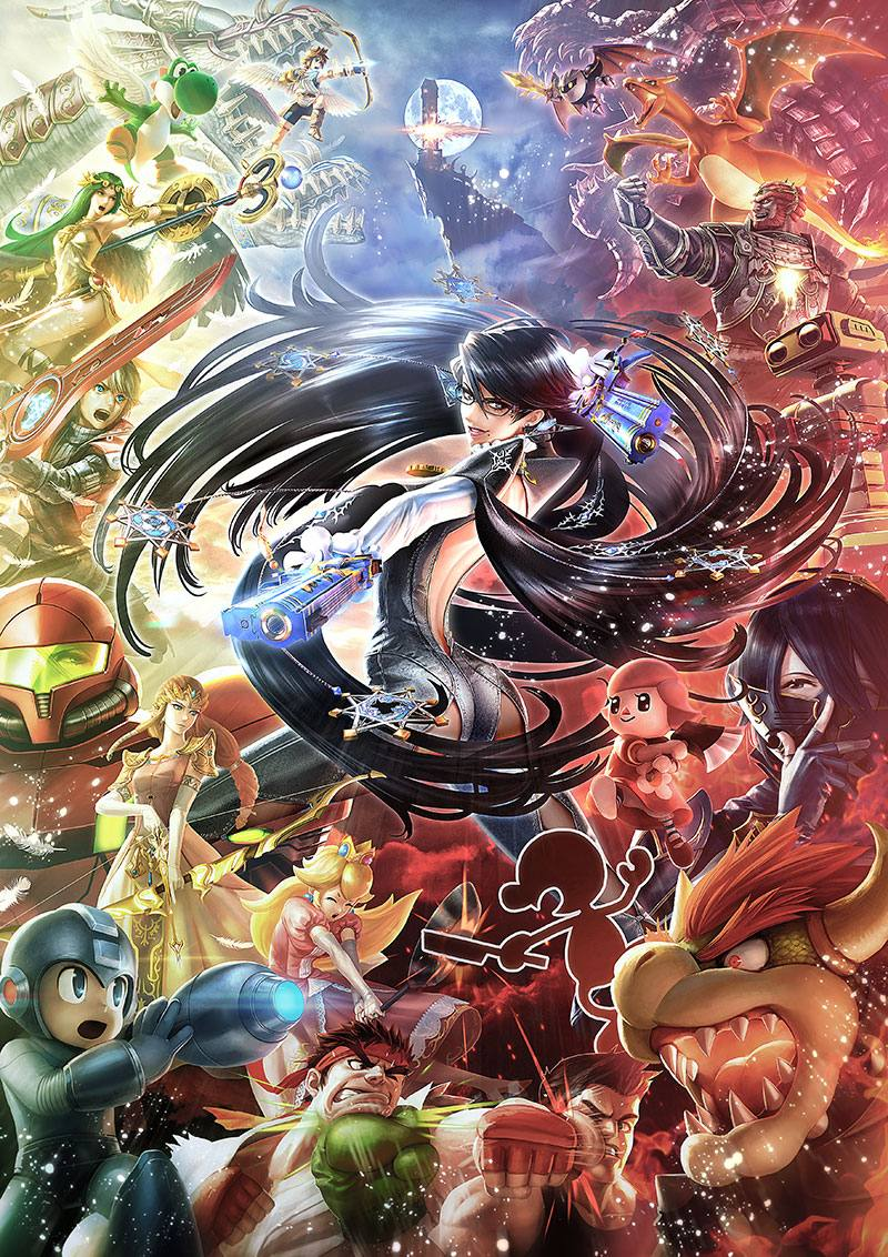 Super Smash Bros 15-12-15 Bayonetta Poster
