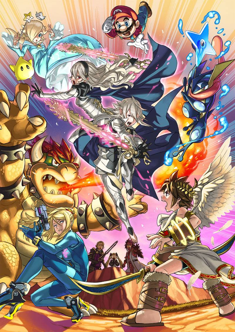 Super Smash Bros 15-12-15 Corrin Poster