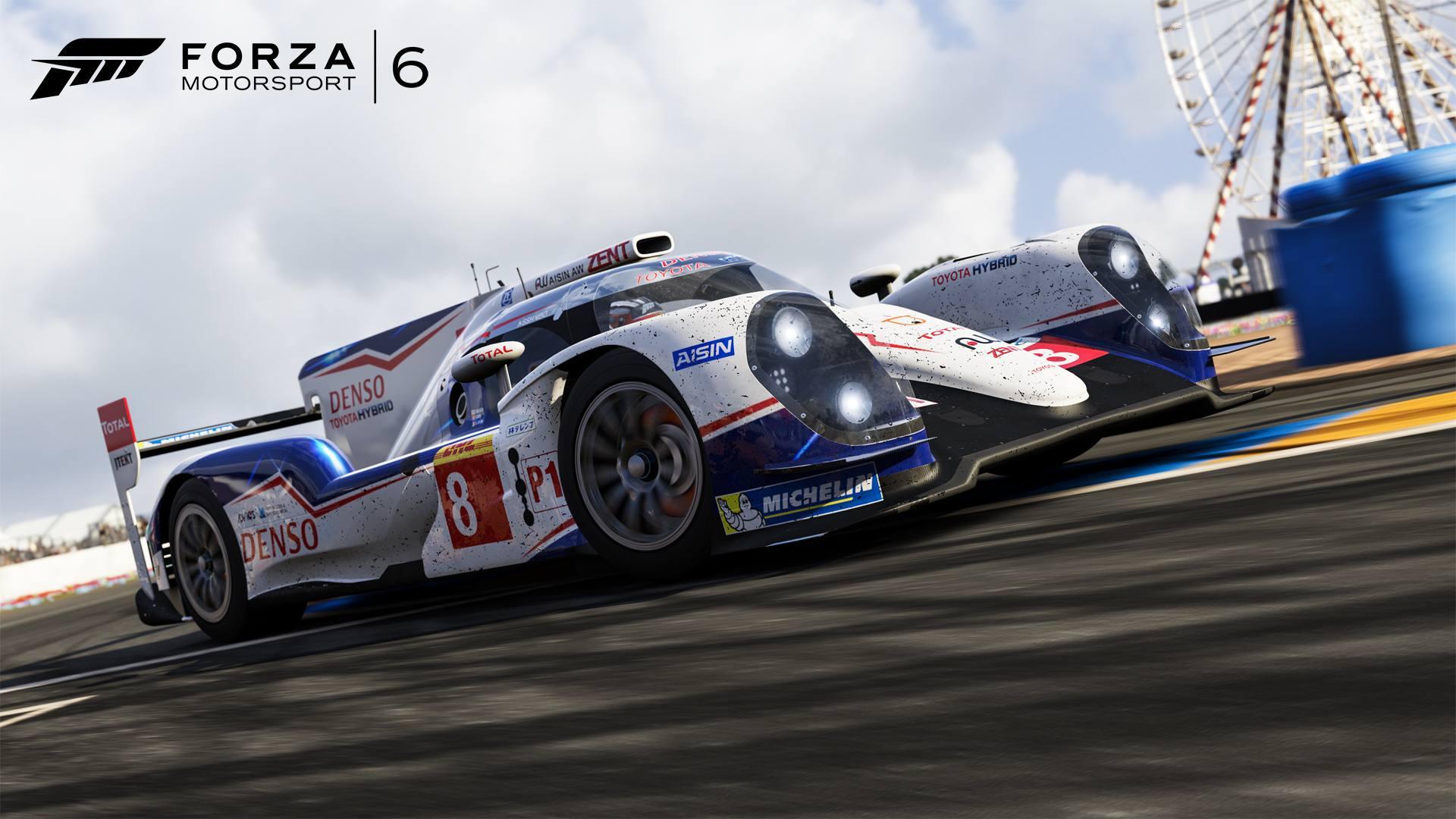 Forza Motorsport 6 05-01-16 2014 Toyota #8 Toyota Racing TS040 HYBRID