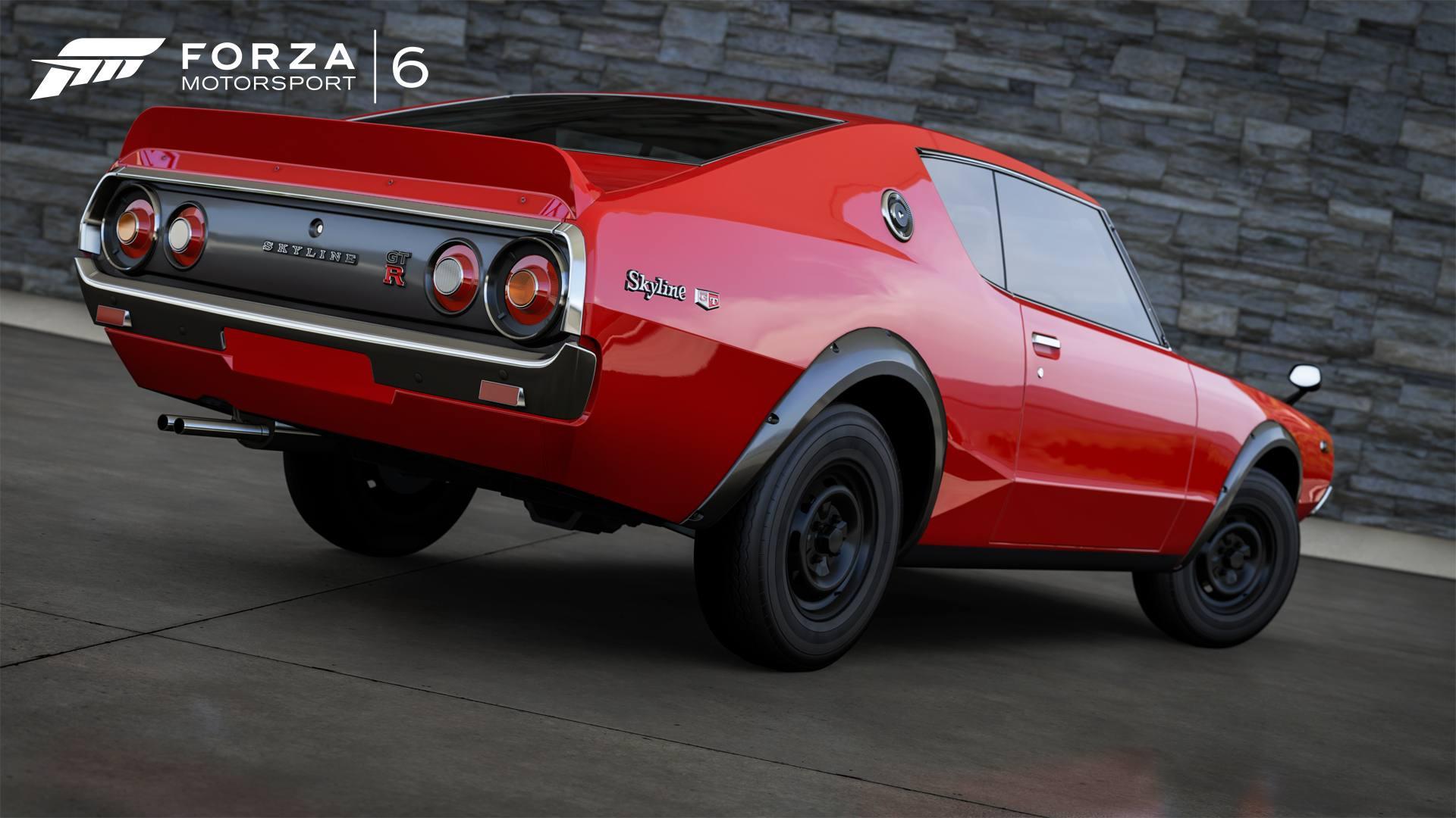 Forza Motorsport 6 05-01-16 2016 1973 Nissan Skyline GT-R