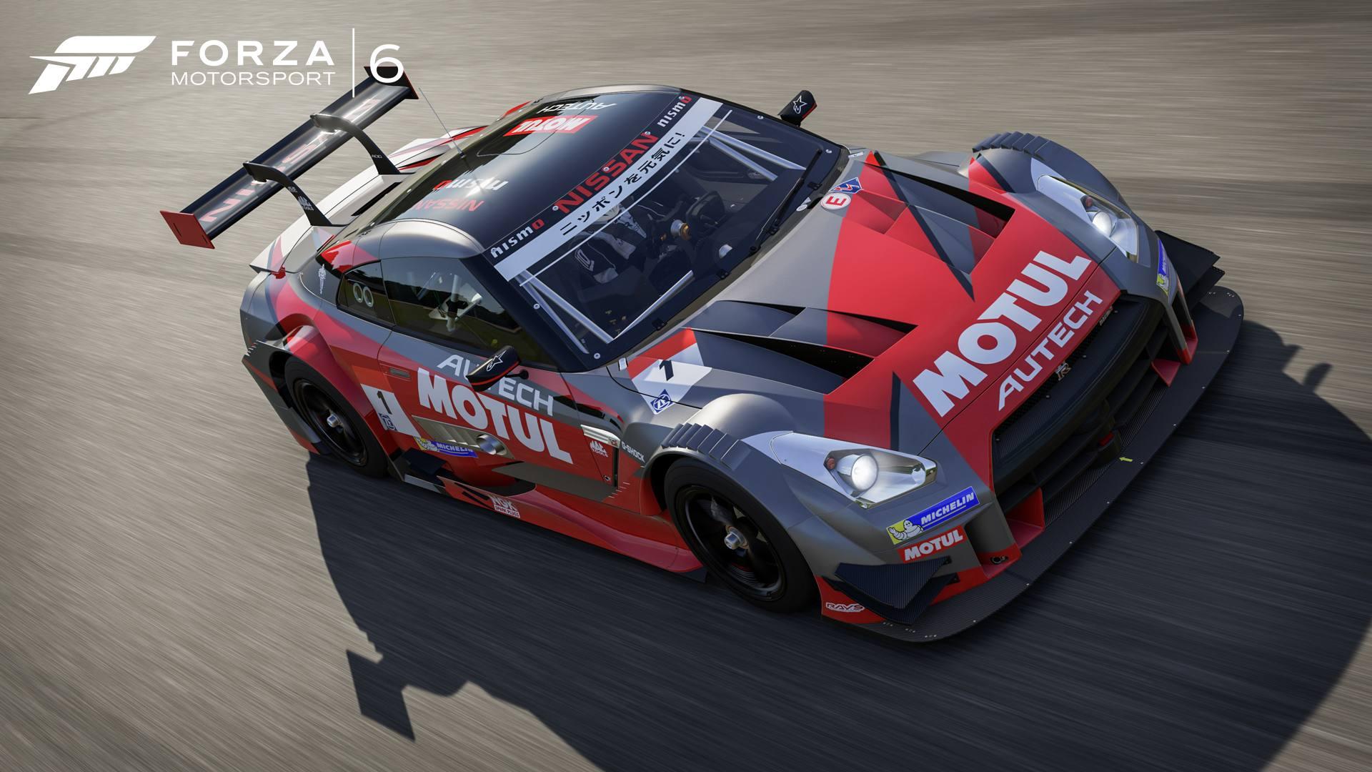 Forza Motorsport 6 05-01-16 2016 2015 Nissan #1 NISMO MOTUL AUTECH GT-R