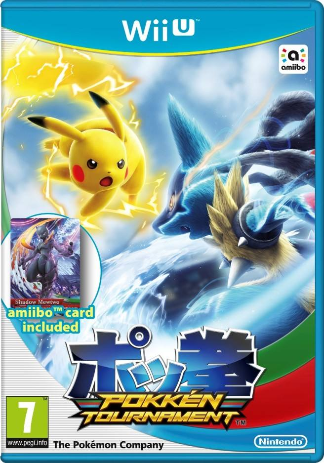 Pokken Tournament cover Wii U EURO