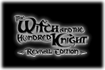 The Witch and the Hundred Knight Revival Edition Logo black