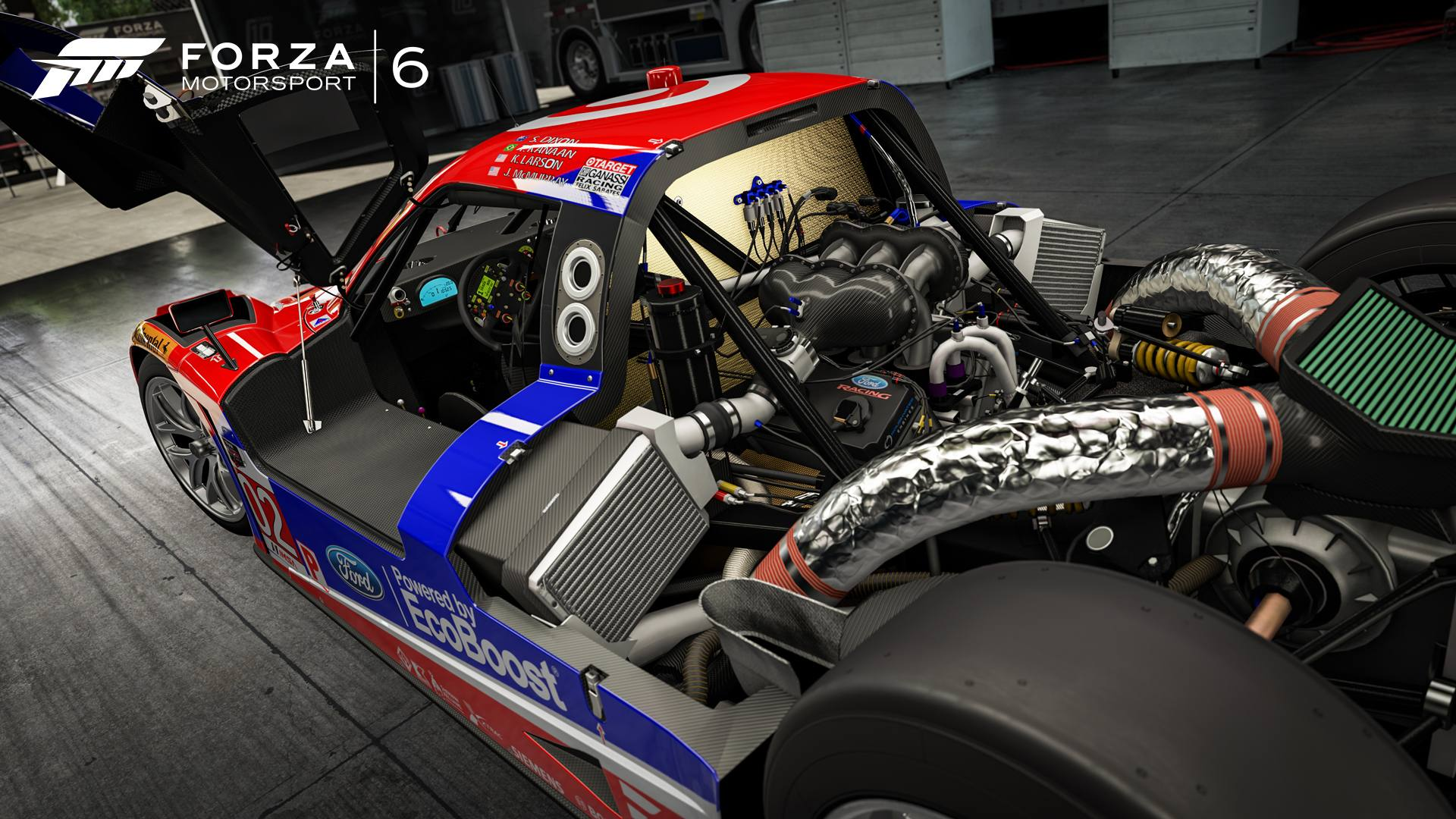 Forza Motorsport 6 27-01-16 2015 Ford #02 Chip Ganassi Racing Riley Mk XXVI Daytona Prototype