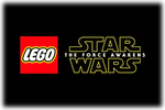 LEGO Star Wars The Force Awakens Logo black