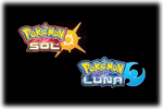 Pokemon Sol y Pokemon Luna Logo black