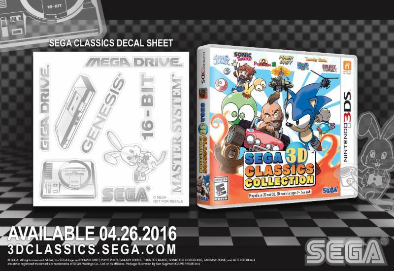 SEGA 3D Classics Collection - Pre-order Bonus