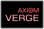 Axiom Verge Logo black