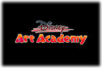 Disney Art Academy Logo black