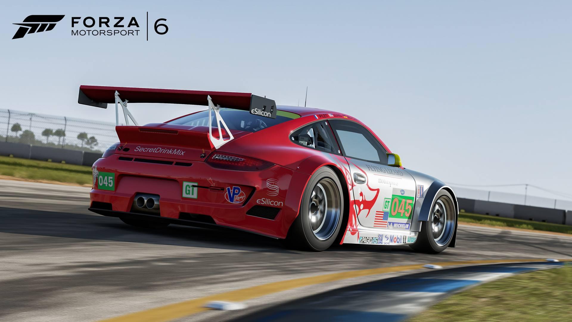 Forza Motorsport 6 01-03-16 2011 Porsche #45 Flying Lizard 911 GT3 RSR
