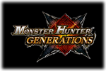 Monster Hunter Generations Logo black