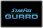 Star Fox Guard Logo black