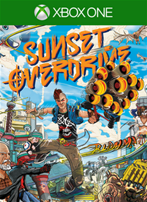 Sunset Overdrive cover XBO