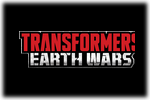 Transformers Earth Wars Logo black