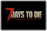 7 Days to Die Logo black
