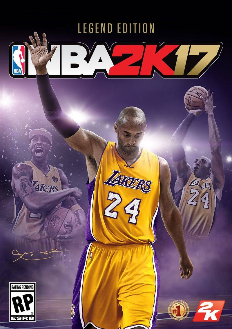 NBA 2K17 Legend Edition cover Art