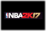 NBA 2K17 Logo black