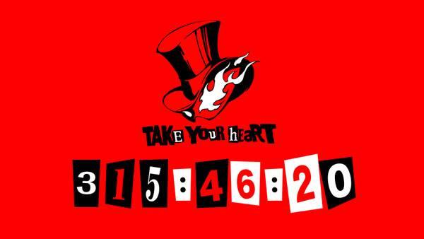 Persona 5 Countdown may 5