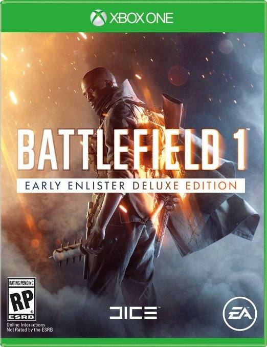 Battlefield 1 Deluxe Edition cover USA XBO