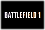 Battlefield 1 Logo black