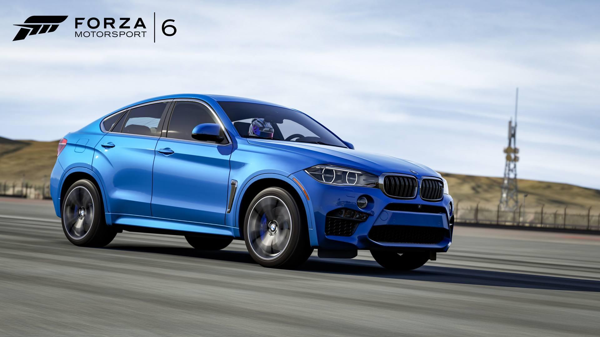 Forza Motorsport 6 DLC Hot Wheels 03-05-16 2015 BMW X6M