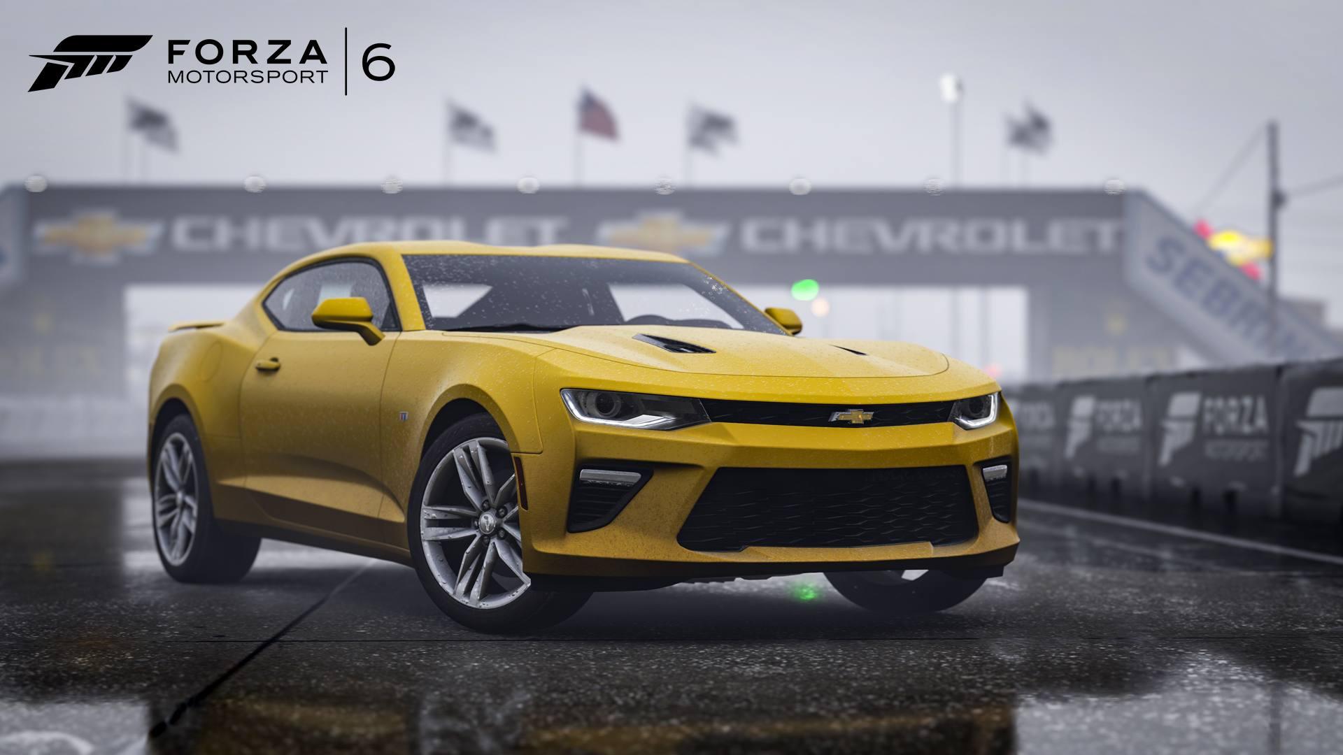 Forza Motorsport 6 DLC Hot Wheels 03-05-16 2016 Chevrolet Camaro Super Sport
