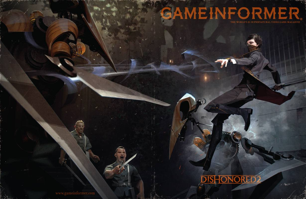 Game informer junio 2016 Dishonored 2 full cover A