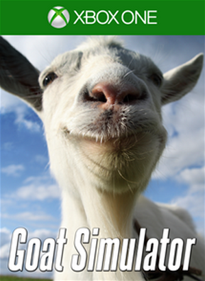 Goat Simuator cover XBox One