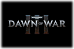 Warhammer 40K Dawn of War III Logo black